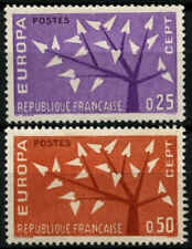 France 1962 SG#1585-6 Europa MNH Set #D55202