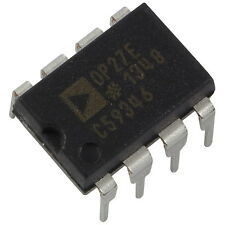 OP27EPZ Analog Devices Op-Amplifier Low-Noise Precision OpAmp DIP-8 856144