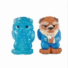 2pcs Ooshies Disney Princess Series The Furry Beast Pencil Topper Figure * Rare