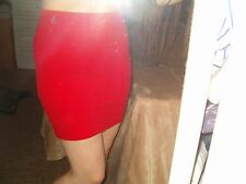 Original Penguin Munsingwear red mini skirt XS, NEW, stretch, sexy, hot, party