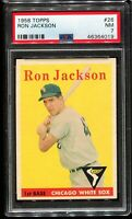 1958 Topps Baseball #26 RON JACKSON Chicago White Sox PSA 7 NM
