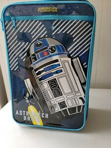 American Tourister R2D2 18 Upright Soft Side Suitcase Disney Star Wars