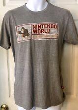 Nintendo World Established 2005 Donkey Kong Large T-Shirt VTG Style