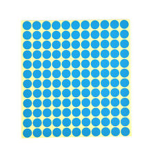 132x Round Paper Sticker Labels Foressential Oil Bottle Capcolor Coded Sticker3c Blue