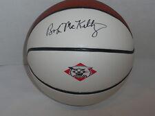 Bob Mckillop Signed Basketball Davidson Wildcats College Legend Proof