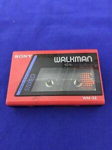 sony walkman WM-22 Vintage Cassette Stereo