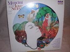 Mancini Plays the Theme from Love Story LSP-4466 Stereo RCA Victor NM / VG+
