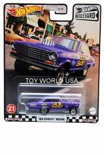 2021 Hot Wheels Premium Boulevard #21 '63 Chevy Nova