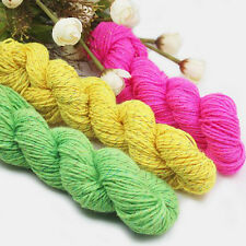 New Acrylic Knitting Wool Yarn for Handmade Scarf Sweater Yarn With Gold Line
