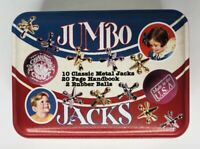 NEW Channel Craft Jumbo Jacks Classic Toy In Metal Tin