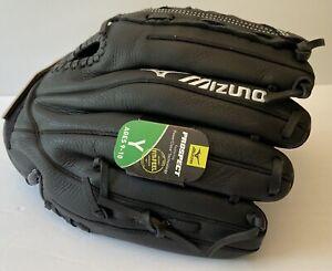 "NEW! Mizuno Prospect Select Series 12"" GPL1200 F2 Black Youth Right Hand 9-10"