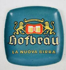 Rare Vtg Stuttgarter Hofbrau Beer Ale Advertising Ashtray Fischer & Co. Germany
