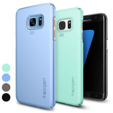 For Galaxy S7 Edge   Spigen® [Thin Fit] Matte Slim Premium Protective Case Cover