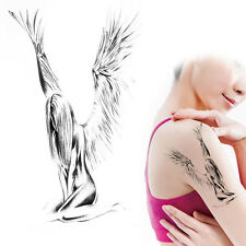 Einmal Tattoo Temporary Tattoo Fallen-Angel  19x11,5cm Medium wasserfest AX148