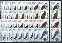 Bund 754 - 757 sauber postfrisch 10 Stück Greifvögel Vögel BRD Michel 80,00 €