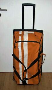 VAUDE Tobago 90 Reisetrolley Rollkoffer orange Planenmaterial Vegan 75x40x32 TOP