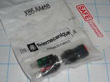 Schneider Telemecanique XB6-AA45 RED Push Button Switch 1NO+1NC Spring Rtn R41-3