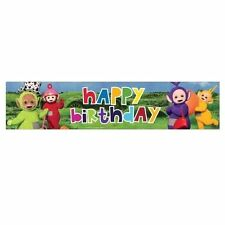 Amscan International 9901197 2.7 M Teletubbies Holographic Foil Banner