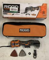 Ridgid R28602 4-Amp Corded JobMax Multi-Tool w/ Tool-Free Head