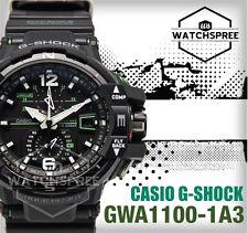 Casio G-Shock Aviation Series Gravity Defier Watch GWA1100-1A3 GW-A1100-1A3