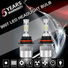 New 200W 20000LM Hi-Lo Beam 9007 LED Headlight Kit Bulbs For  Ram 1500 2500 3500