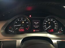 AUDI S6 C6 5.2L INSTRUMENT CLUSTER SPEEDOMETER ASSEMBLY OEM 66K LOW MILES!!!