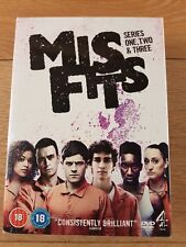 MISFITS - SERIES 1, 2 & 3 - 6-DVD BOX SET ( MIS FITS - SERIES ONE, TWO AND THREE