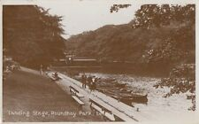 LEEDS(Yorkshire) : Landing Stage,Roundhay Park RP