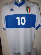 Italy Italia BAGGIO Kappa Shirt Jersey Football Soccer Adult L Top Vintage Rare