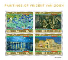Sierra Leone 2019  Paintings of Vincent van Gogh  S201912