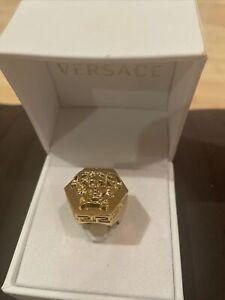 versace fashion jewelry ring Men