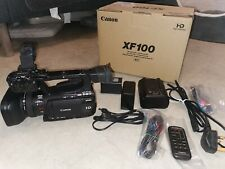 Canon XF100 Full HD Camcorder Excellent Condition