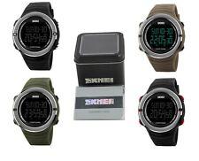 Reloj de pulsera SKMEI Para Hombre Casual LED Digital deportivo de estilo con la tarjeta de garantía y caja
