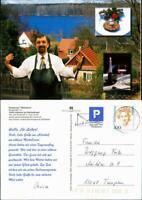 """Ansichtskarte Altenhof-Schorfheide Restaurant """"Werbellow"""" 1997"""