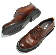 Mens Leather Casual Dress Formal England Wedding Retro Business Round Toe Shoes