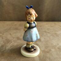 Hummel Two Hands one Treat Girl Figurine Goebel M.I. club 493