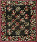 Russian Bessarabian Rug with Pattern of Pink Red and Light Blue Bouquets BB7535