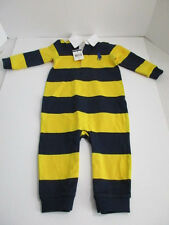AUTHENTIC RALPH LAUREN L/S COVERALL SIZE 9M NWT MSRP $35.00