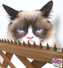 More details for wall fence top spikes strip garden security intruder bird cat burglar anti-climb