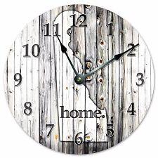 DELAWARE RUSTIC HOME STATE CLOCK Large 10.5 inch Clock - 2218