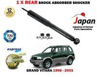 Per Suzuki Grand Vitara I 1.6 2.0 2.5 1998-2003 1 X Ammortizzatore Posteriore