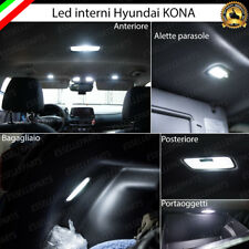 KIT FULL LED INTERNI HYUNDAI KONA CONVERSIONE COMPLETA 6000K NO AVARIA