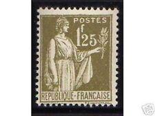 "FRANCE STAMP TIMBRE 287 "" TYPE PAIX 1F25 "" NEUF xx TTB , VALEUR:215€"