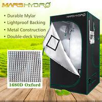 3' x 3' x 6' Indoor Grow Tent Room Box 1680D Diamond Mylar Non Toxic GreenGarden