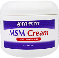 NEW MRM MSM CREAM VITAMIN ANTIMICROBIAL DAILY ANTI AGING SKIN BEAUTY SKIN CARE