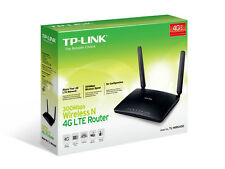 TP-LINK TL-MR6400 4G / LTE Wireless N Router 300Mbps NBN built in 4G/LTE Modem