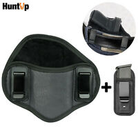Tactical Leather Concealed Carry IWB Right Gun Holster Magazine Pouch for Glock