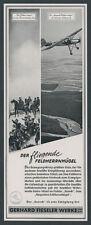La pubblicità Fieseler Storch magico campo onorevole collina AVIAZIONE Kassel Lohfelden'42