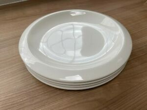 JAMIE OLIVER CHURCHILL CREAM 4 SIDE PLATES MADE IN ENGLAND DISHWASHER MICROWAVE