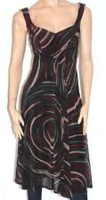 intangible WA Designer Black Flair Sleeveless Dress Size 8 BNWT [sv31]
